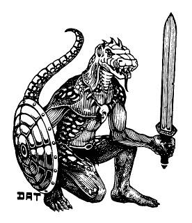 trampier - lizardman